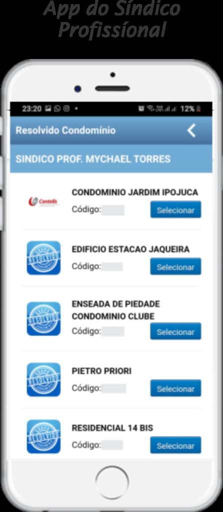 App do síndico profissional